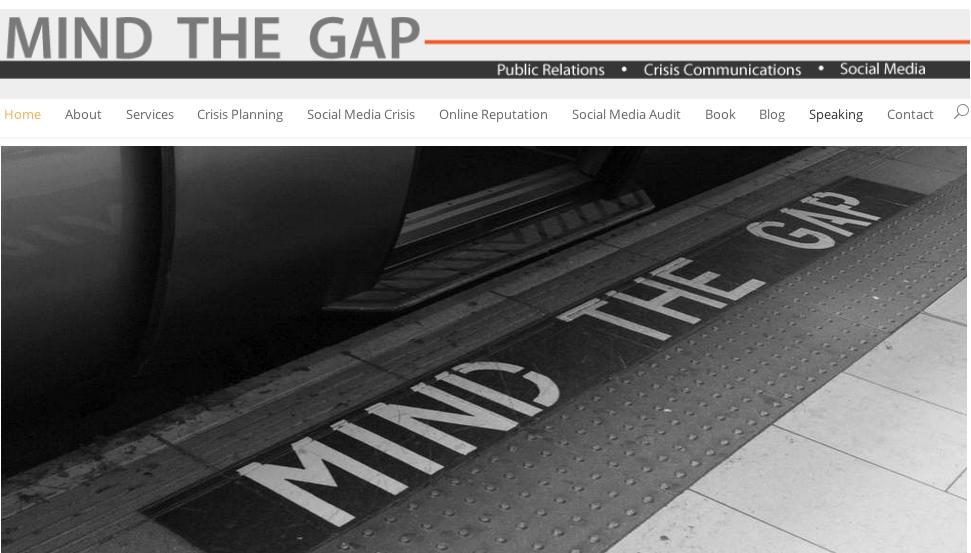 New Mind The Gap PR Website